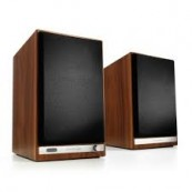 HD6 Powered Speakers, Walnut